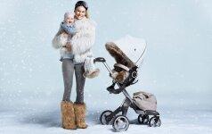 Kaip išsirinkti vežimą, jei vaikas gimsta žiemą