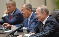 Rusija tikisi D. Trumpo ir V. Putino akistatos per G20 šalių vadovų susitikimą Hamburge