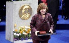 Nobelio premijos laureatei – kliūtys atvykti į Lietuvą