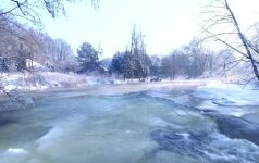 Kerinti žiema: nuo Pūčkorių atodangos atsiveria tikrasis grožis