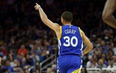S. Curry NBA metraščiuose aplenkė legendinį Serbijos snaiperį