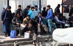 Vokietija ketina pasiūlyti 50 tūkst. darbo vietų pabėgėliams sirams