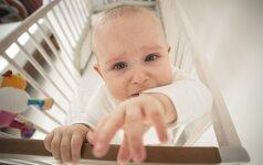 Paslaptingiausia kūdikių verksmo priežastis: gydytojos komentaras