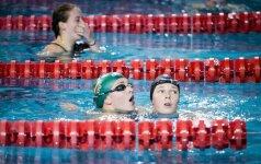 Plaukikė U. Mažutaitytė įspūdingai pagerino R. Meilutytės rekordą