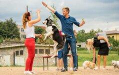Pažintis su augintiniais: kolegos džiaugėsi bendravimu kartu su savo gyvūnais