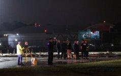 Kandidato į JAV viceprezidentus M. Pence'o lėktuvas patyrė incidentą