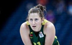 Prancūzijos moterų krepšinio klubui G. Paugaitė pelnė dvylika taškų