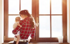 Dukra gimė praėjus pustrečių metų nuo tėvo mirties