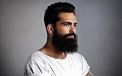 Naujos vyrų šukuosenų tendencijos: anksčiau ar vėliau ši mada dominuos ir Lietuvoje