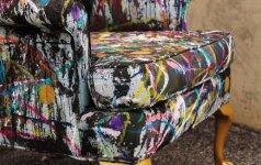 Darau pats: neįprastas fotelio atnaujinimo būdas