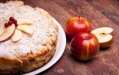 Nepaprastas obuolių pyragas – tobulai pavyks net virtuvės naujokui