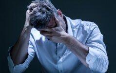 Vyrų savižudybių rodiklis Lietuvoje - didžiausias Europoje