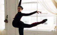 Nėščia balerina žada šokti iki gimdymo FOTO