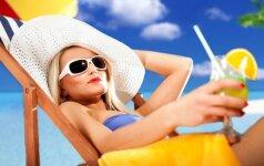 Ar saulė padeda atsikratyti aknės? Specialisto komentaras