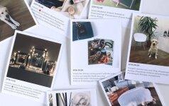 """Greitai įgyvedinamas """"pasidaryk pats"""" projektas: dekoras """"Instagram"""" akimirkomis"""