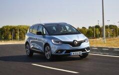 Renault pajamas augina nauji modeliai