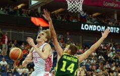 Lietuvos krepšinio rinktinė pirmą kartą istorijoje nepateko į olimpinių žaidynių pusfinalį