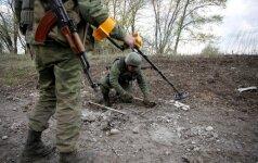 Rytų Ukrainoje žuvo trys vyriausybės pajėgų kariai