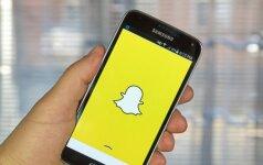 """""""Snapchat"""" pristatė išmaniuosius akinius, pakeitė pavadinimą"""