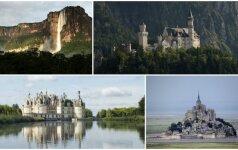 Reto grožio pasaulio gamtos kampeliai, įkvėpę pasakų kūrėjus