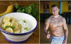 Mitybos specialistas ir atletas išduoda, kaip skaniai pavalgyti NEPAKENKUS FIGŪRAI - vos 180 kalorijų