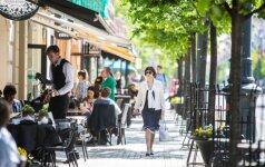 Kiek gyventojų įžvelgia teigiamų pokyčių Lietuvoje?