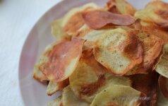 Savaitgalio užkandis: bulvių traškučiai
