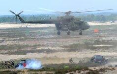 NATO ypač greitojo reagavimo pajėgose budintys Lietuvos kariai išvyko į pratybas Danijoje