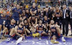 """Parakas nesudrėko: grandus nustelbianti """"Valencia"""" iškovojo dar vieną trofėjų"""