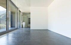 Poliruoto betono grindys: pliusai bei minusai