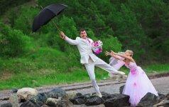 Juokas pro ašaras: 15 nesėkmingiausių vaizdelių iš vestuvių VIDEO