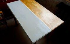Atnaujinkime senus virtuvės baldus: dažymo gudrybės