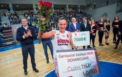 """R. Kaukėno pėdomis: 38-erių metų R. Milieškienė """"Sūduvoje"""" žais paskutinį savo karjeros sezoną"""