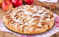 Skaitytoja rekomenduoja: kitoks obuolių pyragas + konkursas