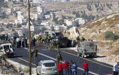 Vakarų Krante nušautas izraelietis