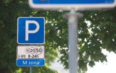 Mokamas automobilių stovėjimas