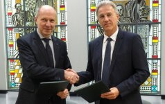 Santariškės ir NVI pasirašė bendradarbiavimo sutartį