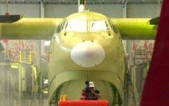 Kinai stulbina užmojais - pagamintas didžiausias pasaulyje lėktuvas amfibija