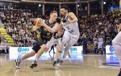 Pasakišku sezonu besimėgaujantis M. Grigonis dėl NBA galvos nepametė