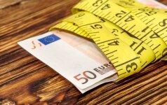 Algų grąžinimo kuriozai: kai kuriems kompensacija sumažėjo net dešimt kartų