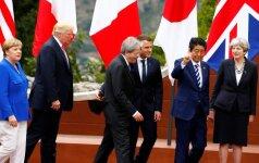 G7 vadovai nesutarė dėl klimato kaitos strategijos
