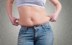 Sportuojate, laikotės dietos, bet riebalai nuo pilvo nemažėja. Kodėl?
