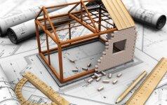 Namo statyba: kaip sumažinti kainą per pusę