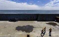 """Rusija skelbia """"precedento neturinčią"""" karinės infrastruktūros plėtrą Kurilų salose"""