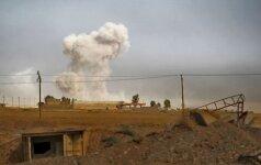 Irake vykstant mūšiui už Mosulą, IS atakavo Kirkuko miestą
