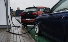 Žada, kad elektromobilius bus galima įkrauti per keletą sekundžių