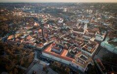 Rengiamas planas kelia nerimą dėl Vilniaus senamiesčio