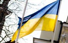 Ukraina: privaloma palikti galioti Rusijai taikomas sankcijas
