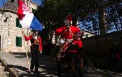 Kroatijos saloje prisiminta legendinė pergalė prieš piratus
