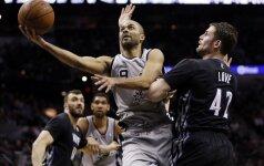 """NBA čempionate """"Spurs"""" klubas šventė 29-ą pergalę"""
